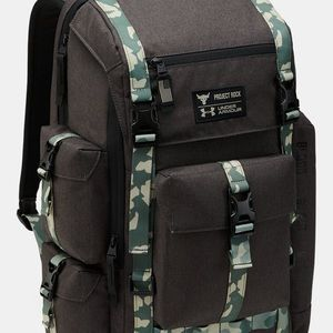 Under Armour backpack by The Rock